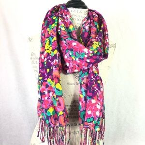Lilly Pulitzer Floral Scarf